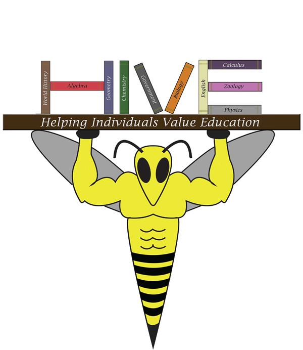 HIVE Logo (Helping Individuals Value Education)